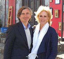 Joanna Lumley visits Patmos