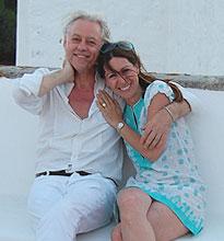 Sir Bob Geldorf visits Patmos