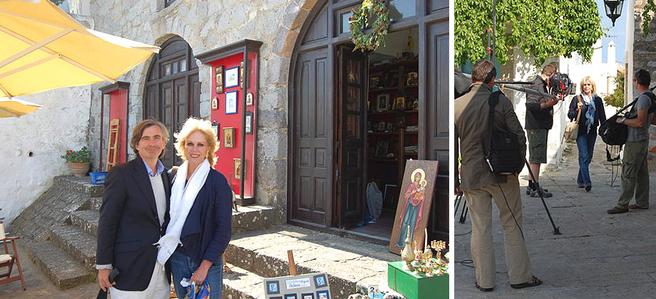 joanna_lumley in patmos may 2011